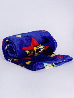Manta-Estampada-Solteiro-Lepper-Azul