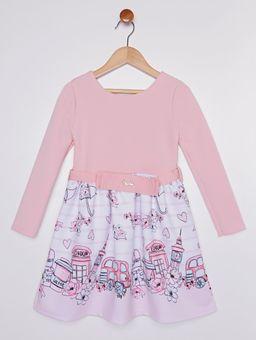 Vestido-Neoprene-Infantil-para-Menina---Rosa