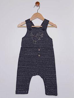 Macacao-Jardineira-Infantil-Para-Bebe-Menino---Azul-P