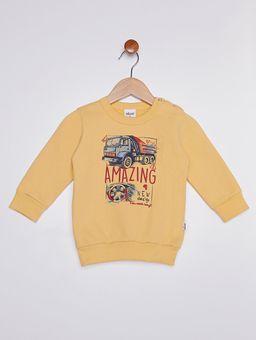 Conjunto-Moletom-Infantil-para-Bebe-Menino---Amarelo