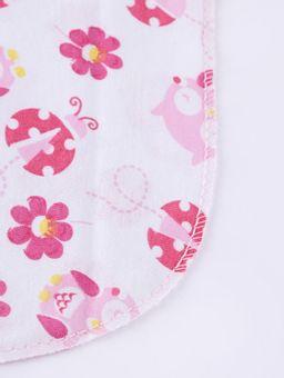 Kit-de-Babetes-Malha-Infantil-para-Bebe---Rosa