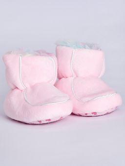 Pantufa-Botinha-Infantil-para-Bebe-Menina---Rosa