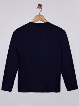 Camiseta-Manga-Longa-Gola-Careca-Juvenil-Para-Menino---Azul-Marinho-16
