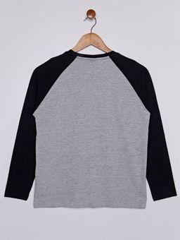 Camiseta-Manga-Longa-Star-Wars-Juvenil-Para-Menino---Cinza-Mescla-preto-16