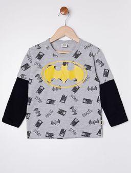 Camiseta-Manga-Longa-Batman-Infantil-Para-Menino---Cinza-1