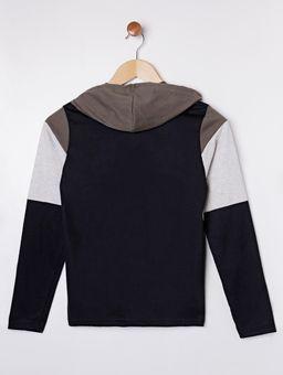 Camiseta-com-Capuz-Manga-Longa-Juvenil-para-Menino---Verde-preto