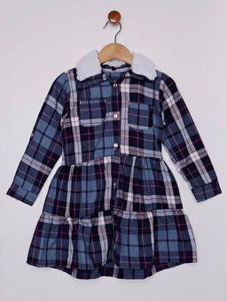 Vestido-Flanela-Infantil-Para-Menina---Azul-Marinho-1