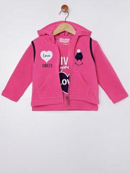 Conjunto-com-Colete-Infantil-para-Menina---Azul-rosa-Pink