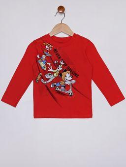 Camiseta-Estampa-Que-Brilha-No-Escuro-Infantil-Para-Menino---Vermelho-1