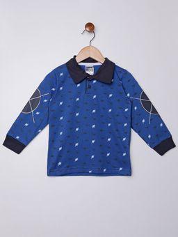 Polo-Manga-Longa-Infantil-Para-Menino---Azul-1
