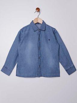 Camisa-Jeans-Manga-Longa-Infantil-para-Menino---Azul-Claro