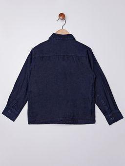 Camisa-Jeans-Manga-Longa-Infantil-para-Menino---Azul-Escuro