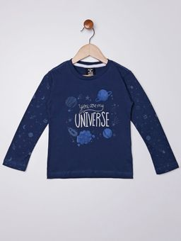 Camiseta-Manga-Longa-Infantil-Para-Menino---Azul-Marinho-1