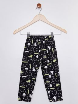Pijama-Brilha-no-Escuro-Infantil-para-Menino---Cinza-preto