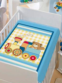 Cobertor-Jolitex-Infantil-Para-Bebe---Azul