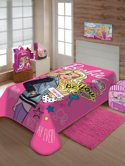 Cobertor-Solteiro-Jolitex-Rosa-Pink