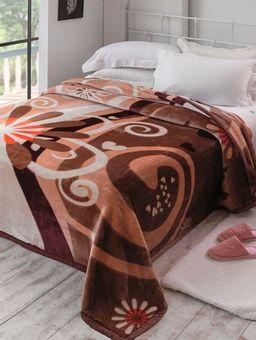 Cobertor-Queen-Size-Jolitex-Vinho