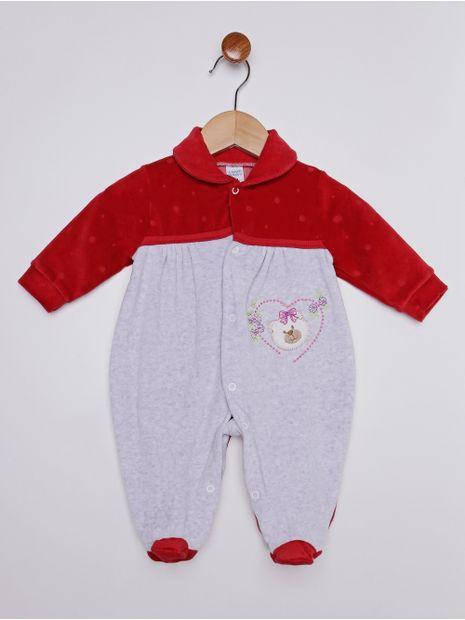 Macacao-Plush-Infantil-para-Bebe-Menina---Vermelho-cinza