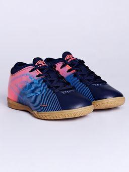 Tenis-Futsal-Umbro-Vibe-Ii-Jr-Indoor-Infantil-Para-Menino---Azul-Marinho-coral-32
