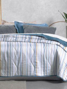 Edredom-Solteiro-Altenburg-New-Confort-Azul-bege