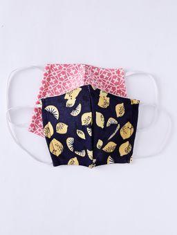 Kit-de-Mascaras-Infantil-Para-Menina---Coral-azul-2-8