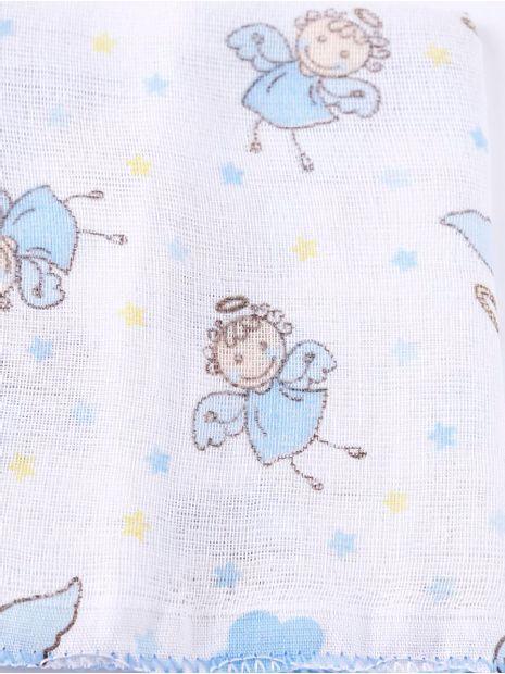 Kit-Panos-de-Boca-para-Bebe---Azul
