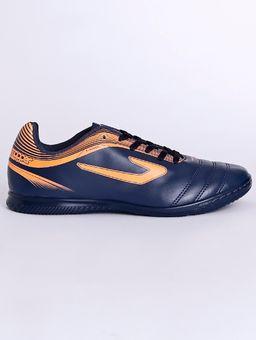 Tenis-Futsal-Topper-Cup-Iii-Indoor-Masculino-Azul-Marinho-laranja-37