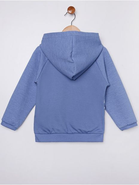 Moletom-Fechado-com-Capuz-Infantil-Para-Menino---Azul-1