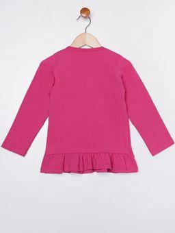 Blusa-Manga-Longa-Infantil-Para-Menina---Rosa-Pink