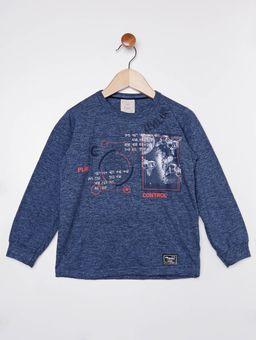 Camiseta-Manga-Longa-Infantil-Para-Menino---Azul-1