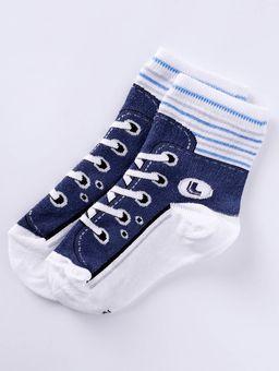 Meia-Lupo-Kids-Infantil-Para-Bebe-Menino---Azul-4-6
