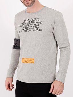 Camiseta-Basica-Manga-Longa-Masculina-Cinza-P