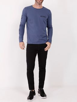 Camiseta-Basica-Manga-Longa-Masculina-Azul-Marinho-P