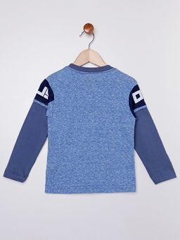Camiseta-Manga-Longa-Infantil-Para-Menino---Azul
