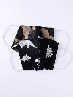 Kit-de-Mascaras-Infantil-Para-Menino---Preto-camuflado-2-8