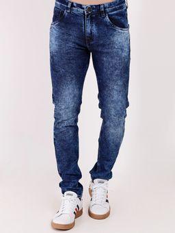 Calca-Jeans-com-Elastano-Eletron-Masculina-Azul