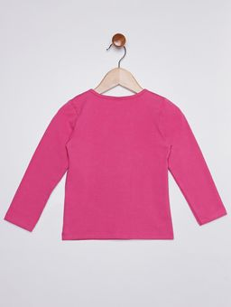 Blusa-Cotton-Manga-Longa-Infantil-Para-Menina---Rosa-Pink