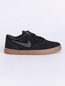 Tenis-Casual-Nike-Sb-Check-Solar-Masculino-Preto-marrom-37