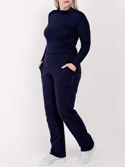Calca-Moletom-Plus-Size-Feminina-Azul-Marinho-G2