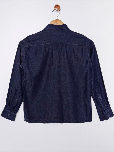 Camisa-Jeans-Manga-Longa-Juvenil-Para-Menino-Azul-Marinho-16