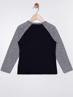 Camiseta-Manga-Longa-Infantil-Para-Menino---Preto-cinza-1