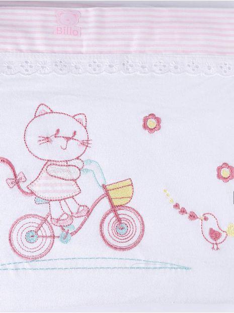 Jogo-de-Lencol-Bordado-Para-Berco-Rosa-branco