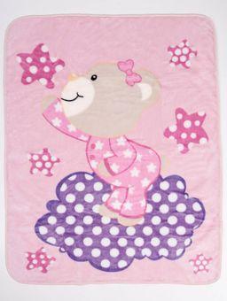 Cobertor-Bebe-Inter-Home-Rosa-Claro