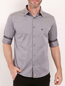 Camisa-Manga-3-4-Masculina-Preto-P