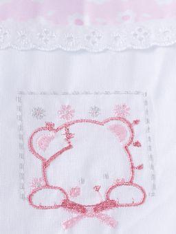 Jogo-de-Banho-com-Bordado-Infantil-Para-Bebe---Rosa-branco-cinza
