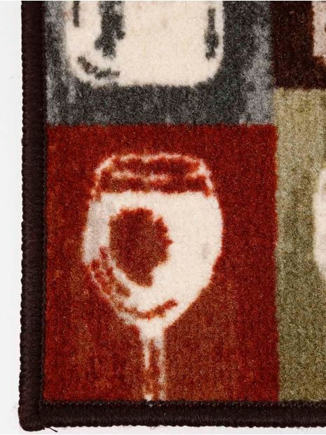 Jogo-de-Tapete-Cozinha-Corttex-Marrom-vermelho