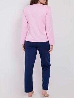 Pijama-Moletom-Feminino-Rosa-marinho-P