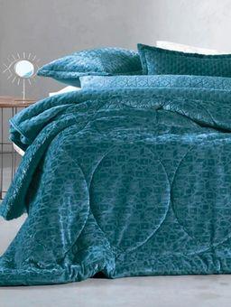 Edredom-Solteiro-Altenburg-Blend-Elegance-Azul-Marinho-azul