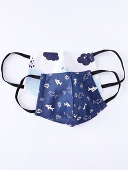 Kit-de-Mascaras-Infantil-Para-Menino---Branco-azul-Marinho-2-8