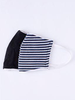 Kit-de-Mascaras-Infantil-Para-Menino---Azul-preto-2-8